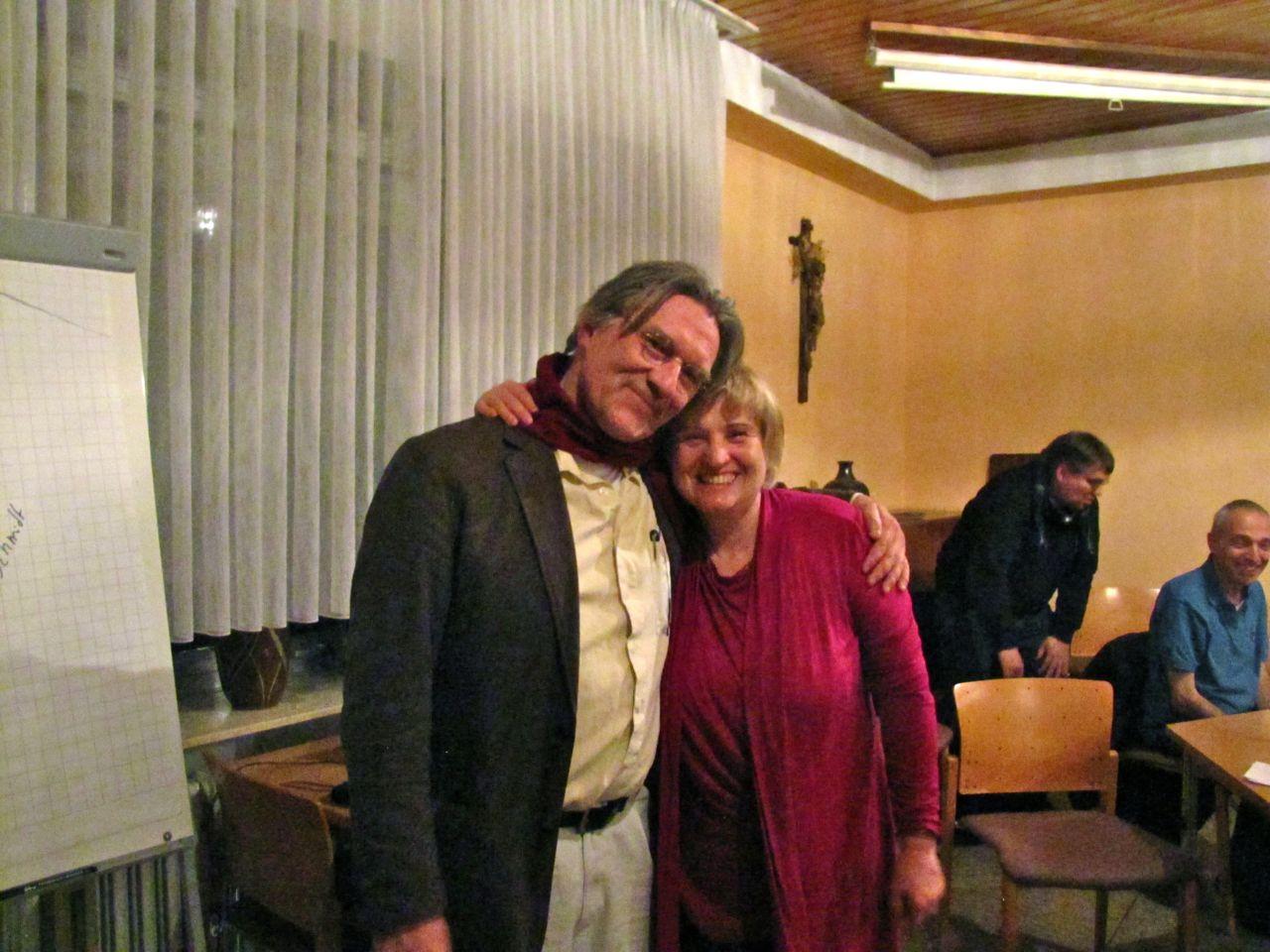 Ralph Boes und Britta Materna