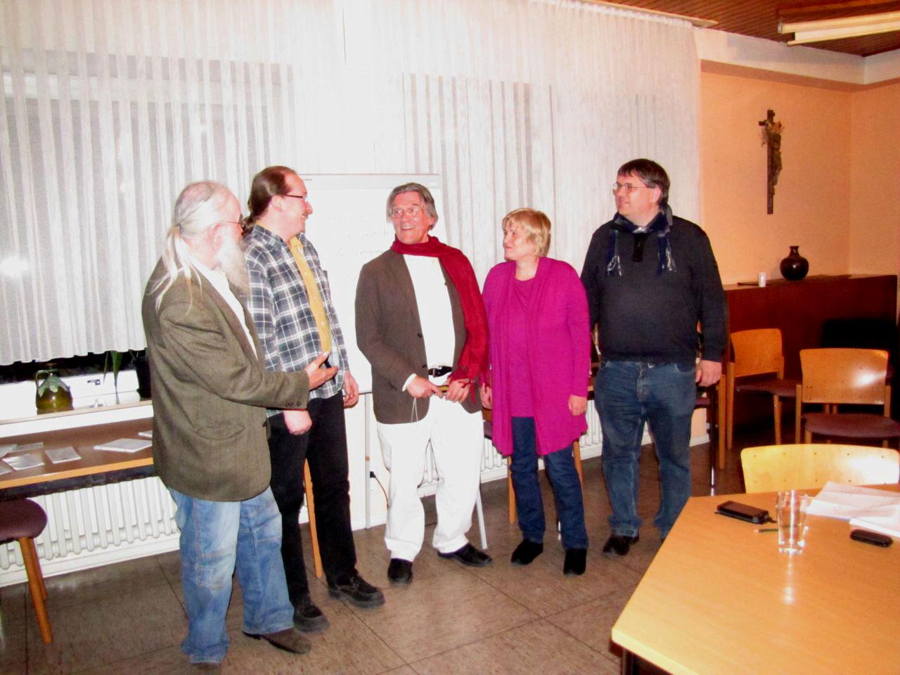 """Gruppenfoto """"Ich tu's"""" mit Rahlph Boes"""